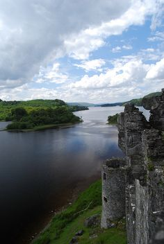 Kilchurn Castle, looking down Loch Awe by tychofarrar, via Flickr