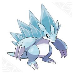 Alolan Sandslash- Ice/Steel with the ability Snow Cloak. Pokémon Sun and Pokémon Moon | Pokemon.com/SunMoon
