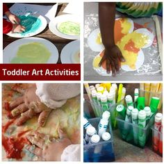 Toddler crafts for 2 and under