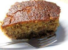 Aμυγδαλόπιτα νηστισιμη !!! Greek Sweets, Greek Desserts, Greek Recipes, Vegan Desserts, Greek Cake, Greek Cookies, Greek Pastries, Cookie Recipes, Dessert Recipes