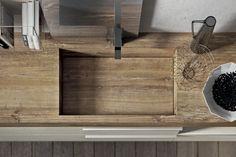 Prodotti - Componenti - Lavabi - Lavabi integrati - Square - AgoràGroup - Edoné Design