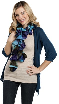 Premier® Yarns Starbella® Strata Scarf #knit #pattern