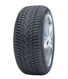 Nokian WR D3 - Nokian WR D3 offers a virtuoso combination of safety and carefree driving pleasure. Thanks to nanotechnology, new materials and innovations this environmentally friendly premium tyre provides first-class grip and handling properties in the typically varying winter conditions of Central Europe.   With an arrow-shaped tread pattern, Nokian WR D3 is a sound choice for small and mid-sized family cars and for motorists who value economical and safe driving.