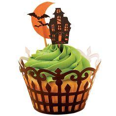 Wilton Haunted Manor Cupcake Wraps and Picks $4.49