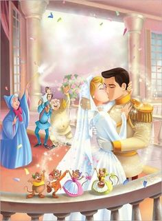 *FAIRY GODMOTHER, CINDERELLA, PRINCE CHARMING & THE CINDERELLA MICE ~ Cinderella,
