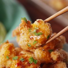 These shrimp are bangin' baby! These shrimp are bangin' baby! Fish Recipes, Seafood Recipes, Asian Recipes, Appetizer Recipes, Cooking Recipes, Healthy Recipes, Seafood Appetizers, Party Appetizers, Fried Shrimp Recipes