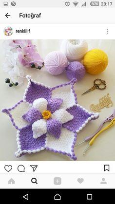 بِسْــــــــــــــــــــــمِ اﷲِارَّحْمَنِ ارَّحِيم Selâmün Aleyküm Kendi tasarım seheryildizi … – İğne Oyaları ve El İşleri Filet Crochet, Crochet Doilies, Crochet Flowers, Crochet Baby Dress Pattern, Crochet Patterns, Hexagon Pattern, Afghan Patterns, Origami Flowers, Crochet Bikini