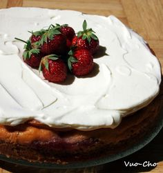 New York Cheesecake with a strawberrytwist
