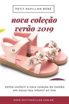 35555141b Venha conferir nossa nova coleção de calçado infantil da Gambo. São  sandálias, sapatilhas,