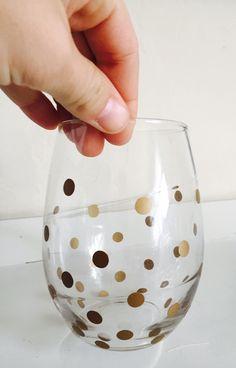 DIY wine glasses 4