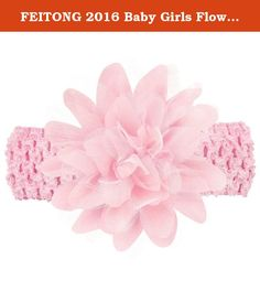 """FEITONG 2016 Baby Girls Flower Headband Lace Bow Hairband Flower Headbands. Description 100% brand new and high quality. Material:Lace,Cloth Color:Beige,Black,Blue,Green ,Grey ,Hot Pink,Khaki ,Pink ,Purple,Red,Yellow,White Size:15*8CM/5.9*3.1"""", For (2 months to 5 years old baby) Adjustable New and nice design Special accessory for your child perfect for photo shoots or for any special occasions Bright color dressing up your little baby more cute Make your baby become more..."""