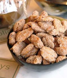 sugared pecans -  I could not make these fast enough - hostess gift, holiday gift, corporate gift.