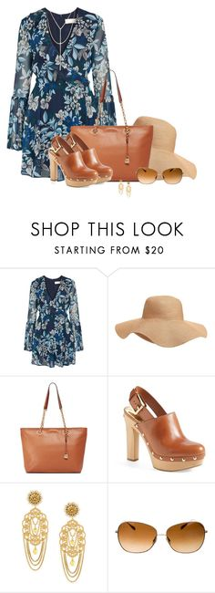 """""""Michael Kors [1]"""" by myxvonwh on Polyvore featuring Keepsake the Label, Old Navy, MICHAEL Michael Kors, Dolce&Gabbana, Oliver Peoples and South Moon Under"""