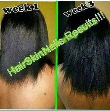 Before and After from taking It Works Product Hair, Skin and Nails for 3 weeks!! dep67@comcast.net Ask me how . Be your own boss www.dottieshealthywraps.com