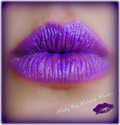 I like purple... I like Lips...  Very cool!