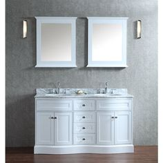 Picture Gallery For Website Shop for Montauk inch Double sink Bathroom Vanity Set Get free delivery