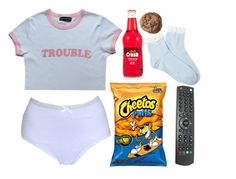 """I Was Raised By A Television"" by doe-eyed-nymphet ❤ liked on Polyvore featuring Forever 21, nymphet and nymphetfashion"