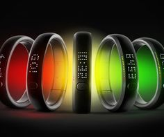 Nike+ Fuelband smart wrist watch / computer