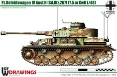 Pz.BfWg IV Ausf.H Heroes And Generals, Panzer Iv, Model Tanks, Military Equipment, Armored Vehicles, Military Art, Model Building, Warfare, World War Ii