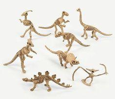 Dinosaur Skeletons   12ct Kara's Party ideas
