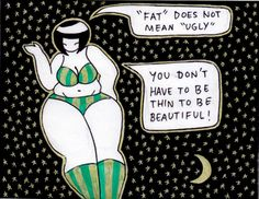 cosmiccutieszine:  May 2015 - Cosmic Cuties against Fatphobia