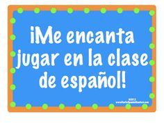 Cuando soy una profesora de español, tendré un buen tiempo (: