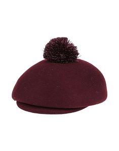 EUGENIA KIM-<Tag 10122>-Hat. #eugenia-kim #<Tag 10122> Cashmere Hat, Eugenia Kim, Black Wool, Burgundy, Beanie, Hats, Accessories, Hat, Beanies