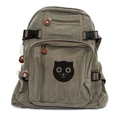 Backpack Watson the Cat Small Lightweight by mediumcontrol, $40.00