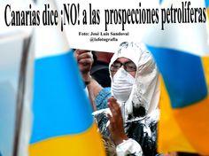 Fotos manifestación no al petroleo en Canarias, 7 junio-Las Palmas San Telmo