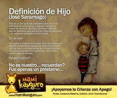 Definición de Hijo (José Saramago)