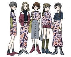 Fashion Design Sketches Illustrations Art Ideas Journal Character