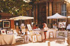 Street fair, Aix en Provence, France Aix En Provence, Provence France, Street Fair, Table Decorations, Home Decor, Decoration Home, Room Decor, Provence, Dinner Table Decorations