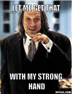 Scary Movie 2 butler strong hand