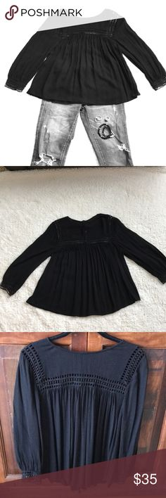 7333d05e93c I just added this listing on Poshmark  Lucky Brand Crepe Blouse.   shopmycloset