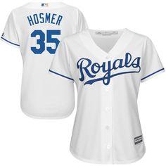 Eric Hosmer Kansas City Royals Majestic Women's Cool Base Player Jersey - White