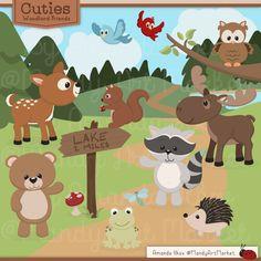8 #Free Cute #Animal #Illustrations
