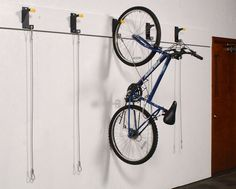 WireCrafters Bicycle Wall Rider bike storage brackers are the ideal way to provide stable, vertical bike storage on unused existing walls in apartments and condominium buildings.