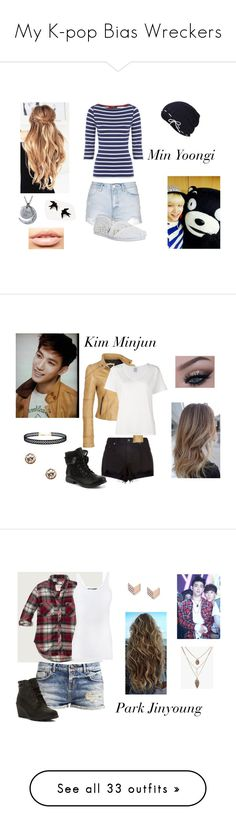 """""""My K-pop Bias Wreckers"""" by lola-twfanmily ❤ liked on Polyvore featuring Topshop, TOMS, Keds, MDMflow, rag & bone, Visvim, LULUS, Givenchy, Abercrombie & Fitch and Vince"""