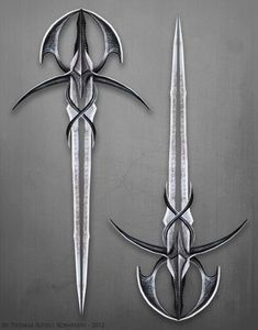 Dark-Glimmersteel Blade