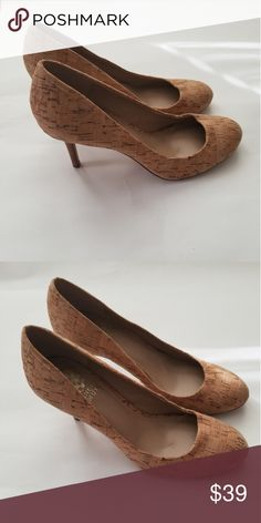 71c3f347b1c5 Vince Camuto Cork Heels Size 7 1 2 NWOB I m offering a gorgeous pair of  Vince Camuto cork heels in a size 7 1 2. ~New without box Vince Camuto  Shoes Heels
