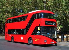 Go Ahead London Central - - New Routemaster, Rt Bus, Double Decker Bus, London Bus, Go Ahead, Transportation, Around The Worlds, Coaches, Buses