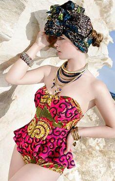Photo Credit: Erik Jansen Fotografie  Model & Jewelry Designer: Anne Dijkstra Body Suit: #OhemaOhene from Lady Africa, NL
