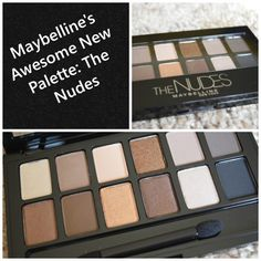 Maybelline The Nudes Swatches and Review - Beauty and Fashion Tech