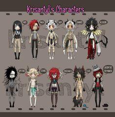 Jason and Creepypasta OCs