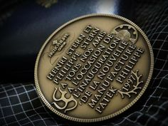 "Patek Philippe Geneve commemorative medal coin unframed print. Price starts at $22 (Petite 8"" x 10"")."