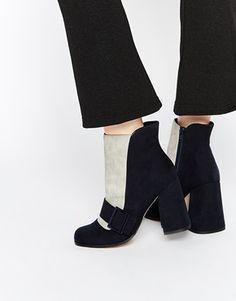 ASOS – Ankle-Boots in EIERSCHALE