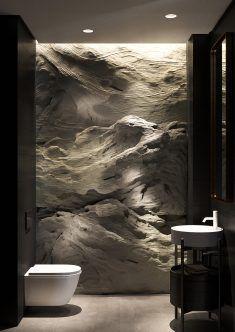 Shaken not Stirred Apartment in the Dnipro - Haus design - Bathroom Decor Dream Home Design, Modern House Design, Modern Interior, Interior And Exterior, Futuristic Interior, Contemporary Interior Design, Contemporary Architecture, Toilette Design, Bathroom Design Luxury