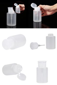 [Visit to Buy] 120ML Pump Dispenser Nail Art Acrylic Alcohol Liquid Cleaner Empty Remover Bottle Beauty Tool #Advertisement