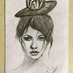 #karakalem #girl #portre #art