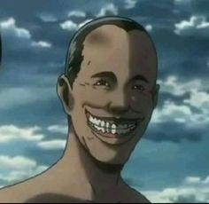 Cursed Images, Attack On Titan, Webtoon, Sticker, Faces, Lol, Icons, Random, Anime
